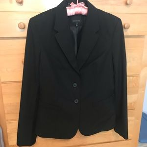 Black Suit Jacket from The Limited